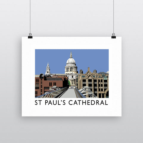 St Pauls Cathedral, London 11x14 Print