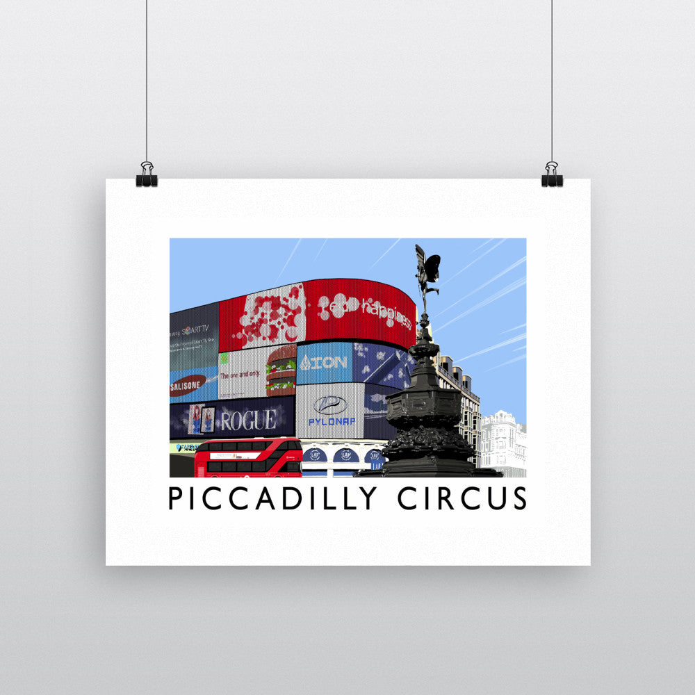 Piccadilly Circus, London 11x14 Print