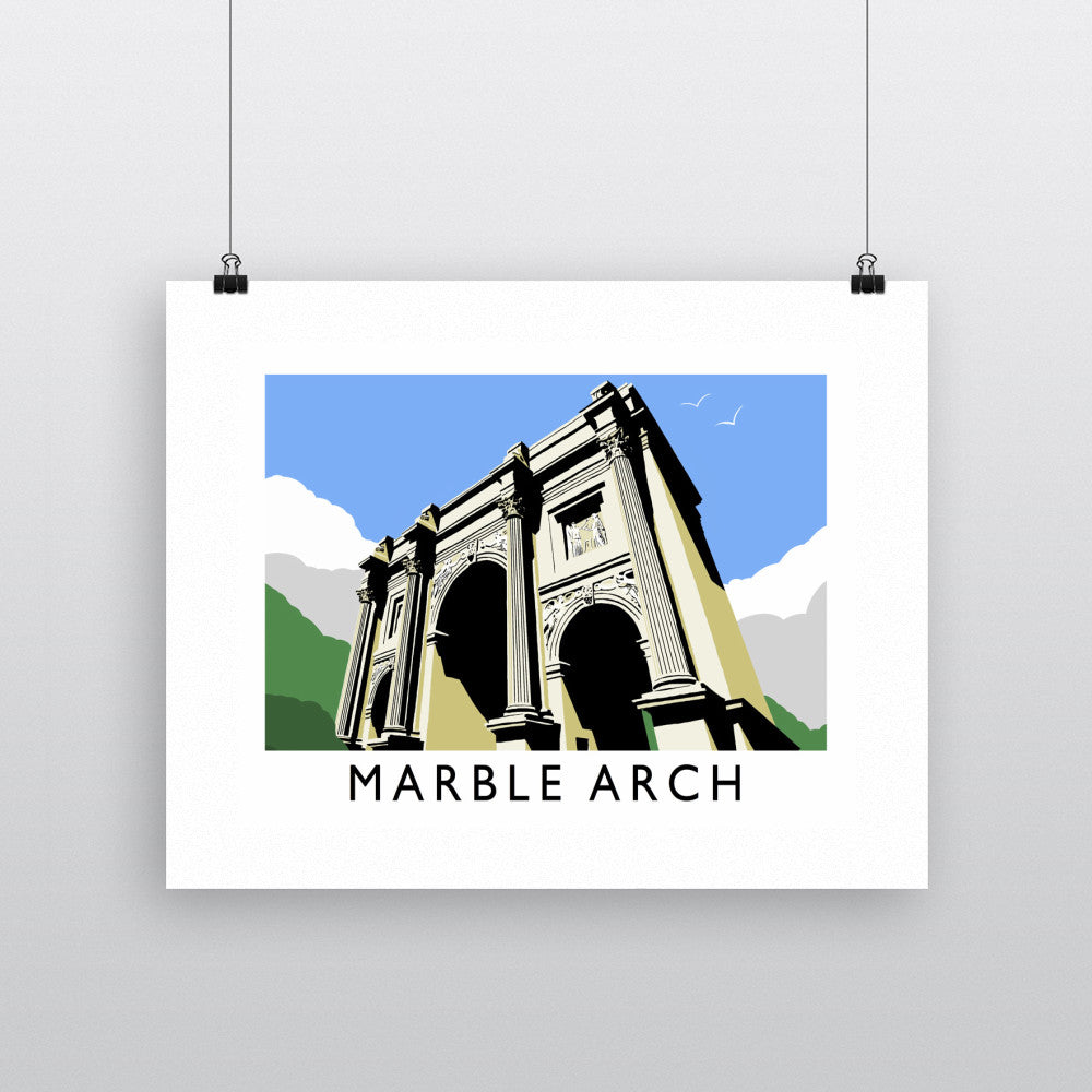 Marble Arch, London 11x14 Print