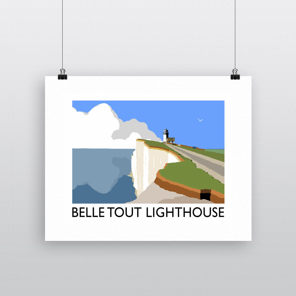 Belle Tout Lighthouse, Sussex 11x14 Print
