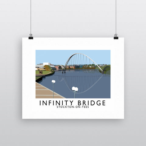 Infinity Bridge, Stockton on Tees 11x14 Print