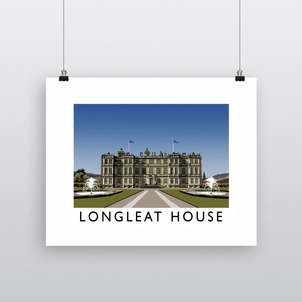 Longleat House, Wiltshire 11x14 Print