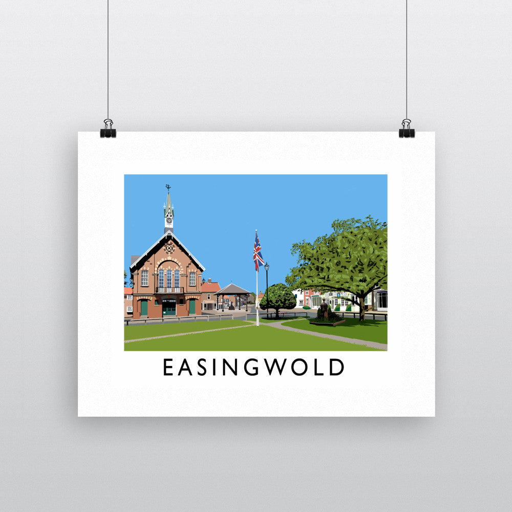 Easingwold, Yorkshire 11x14 Print