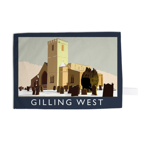 Gilling West, Yorkshire 11x14 Print