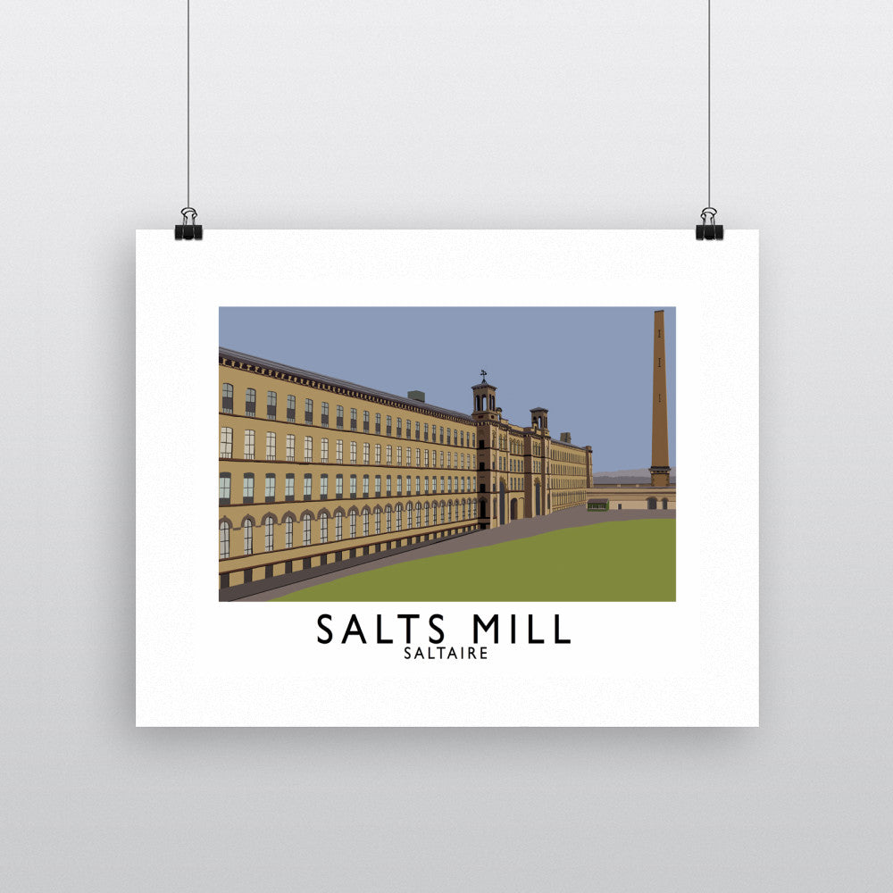 Salts Mill, Saltaire, Yorkshire 11x14 Print