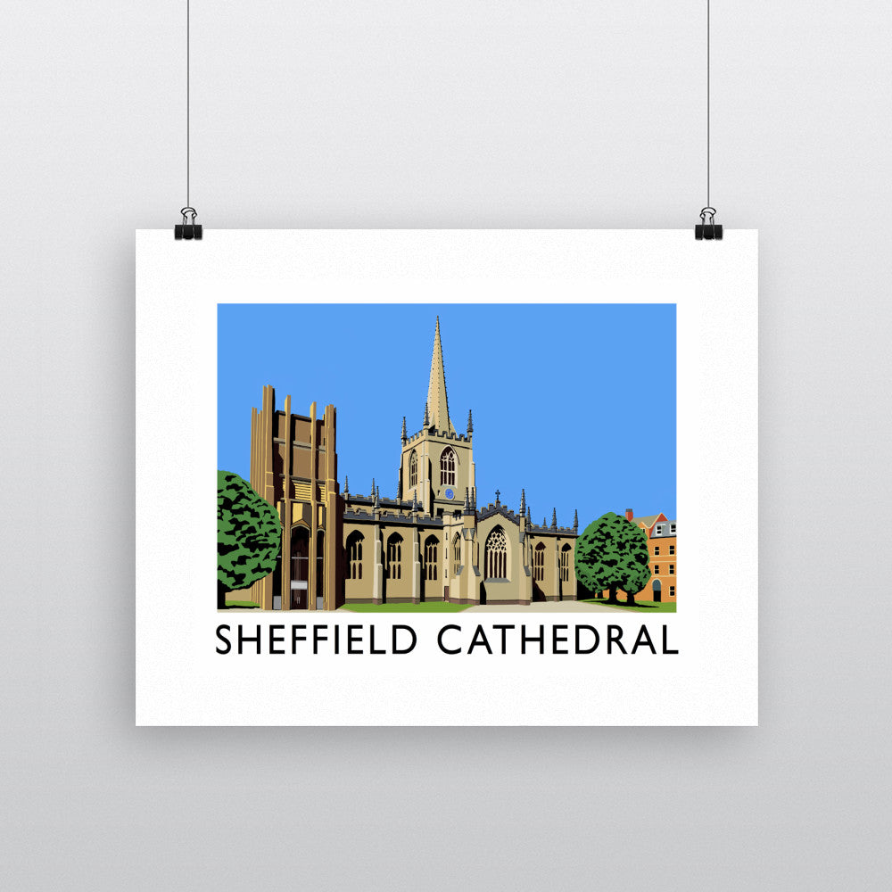 Sheffield Cathedral, Yorkshire 11x14 Print