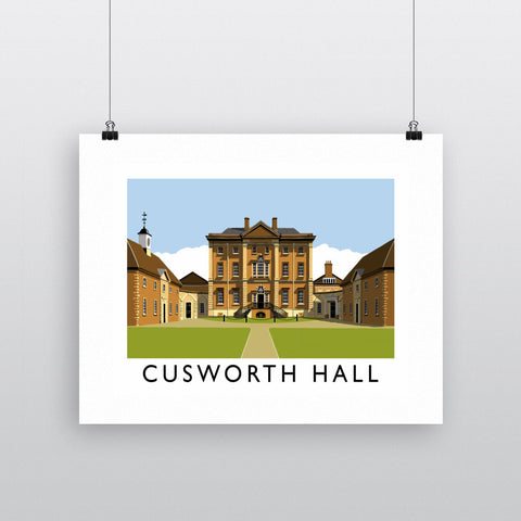 Cusworth Hall, Yorkshire 11x14 Print