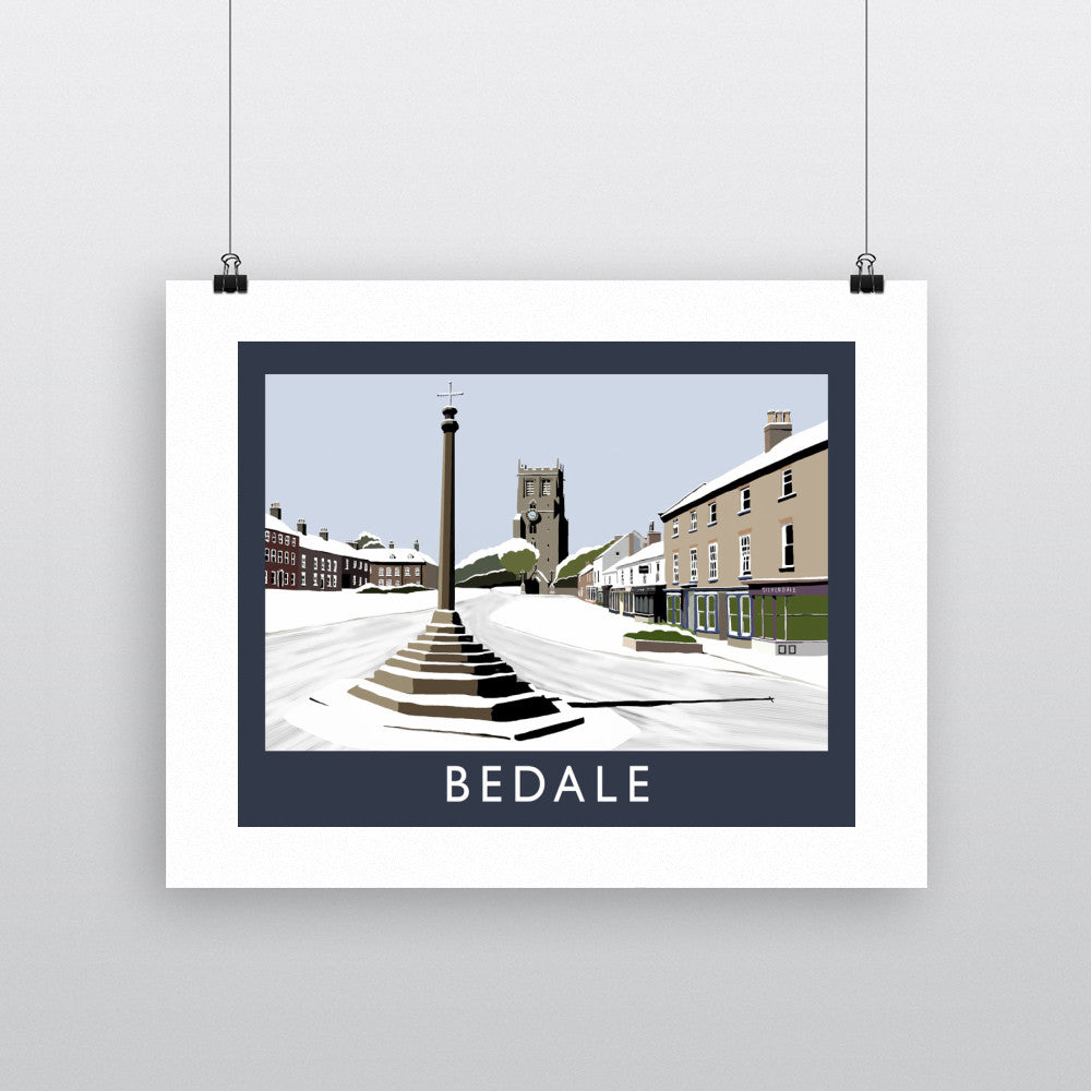 Bedale, Yorkshire 11x14 Print