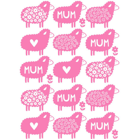 Mum Sheep Greeting Card Greeting Card 7x5