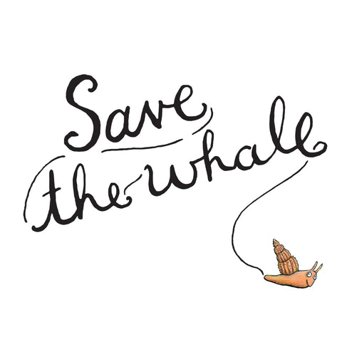 SNWH003 - The Snail and The Whale - Save the Whale