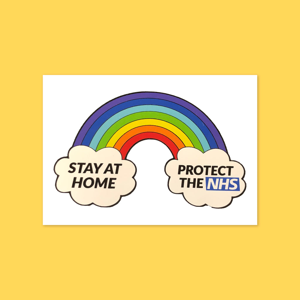 Protect the NHS Sticker