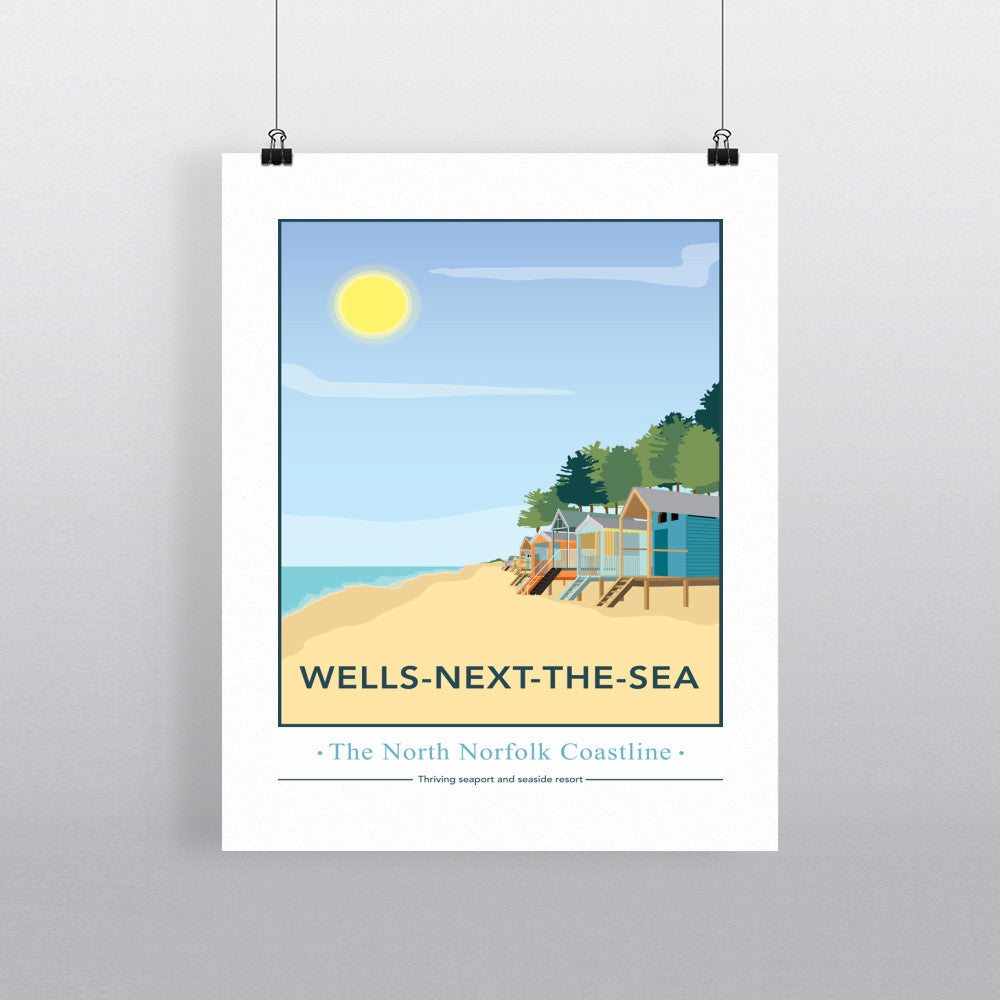 Wells-Next-The Sea, Norfolk 11x14 Print
