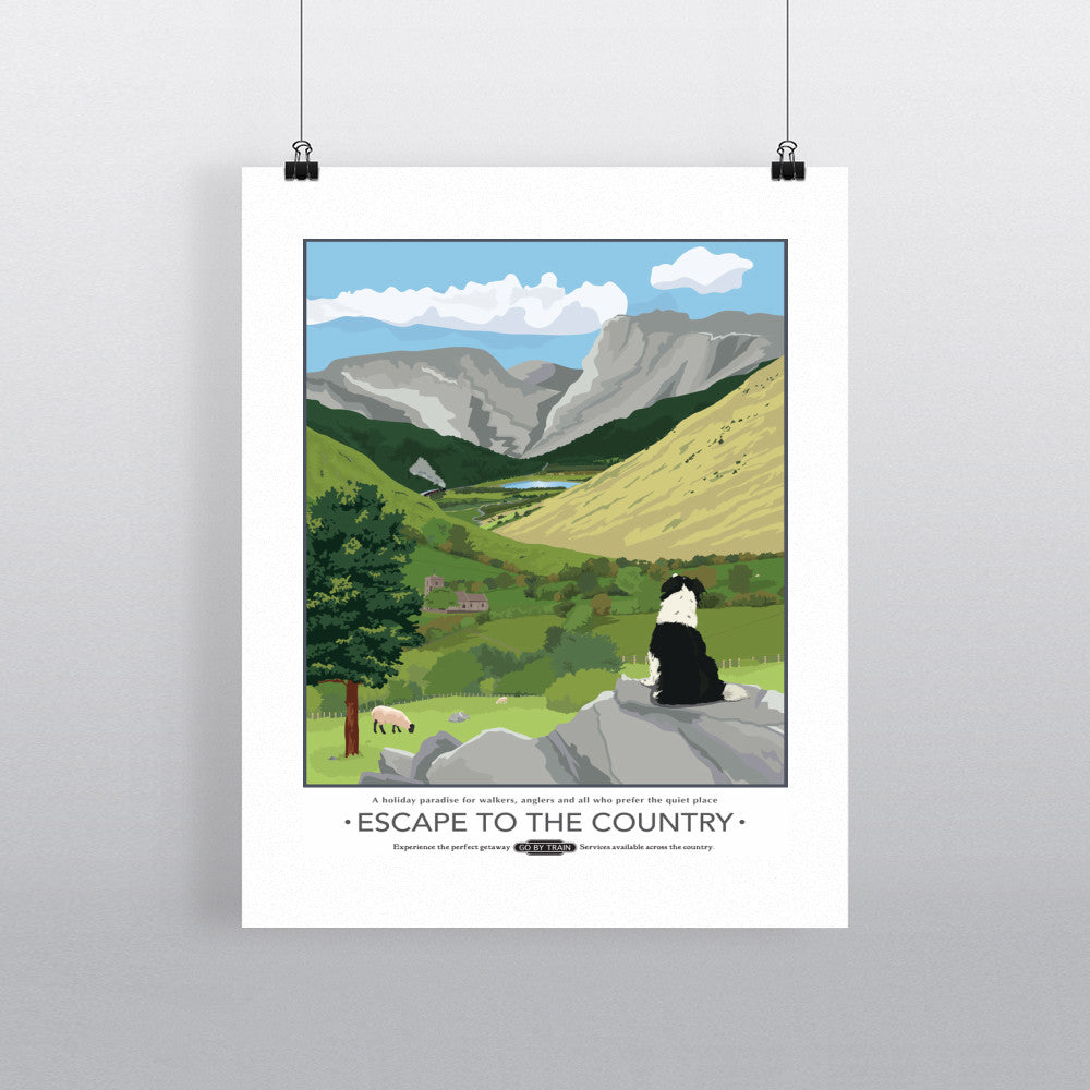 Escape to the Country, 11x14 Print
