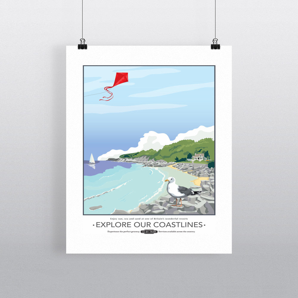 Explore Our Coastlines, 11x14 Print
