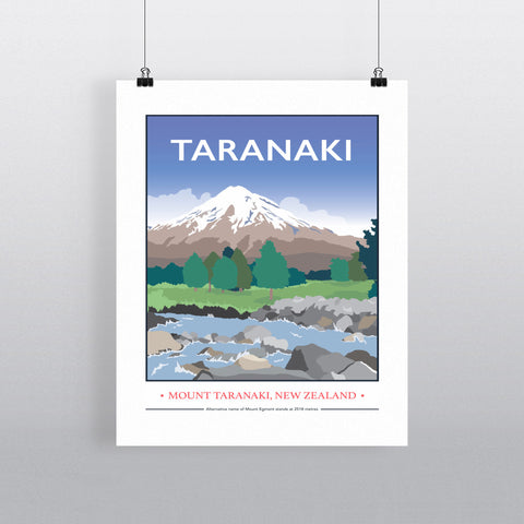 Mount Taranaki, Taranaki, New Zealand 11x14 Print