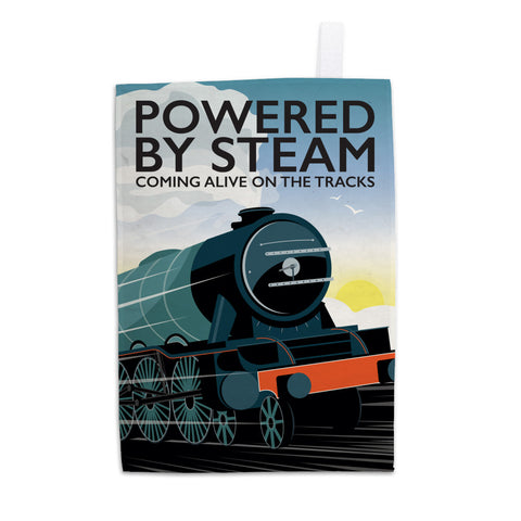 Powered By Steam, 11x14 Print