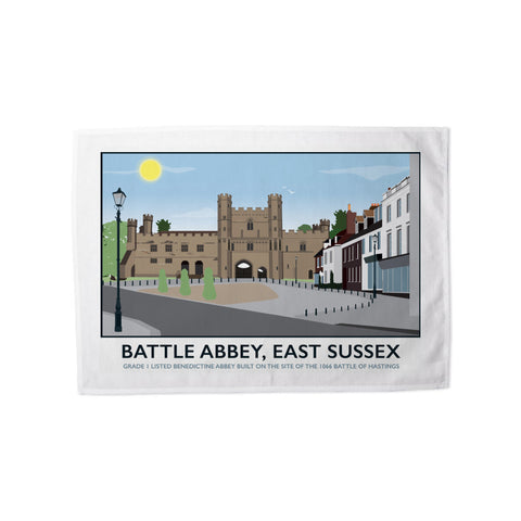 Battle Abbey, Battle 11x14 Print