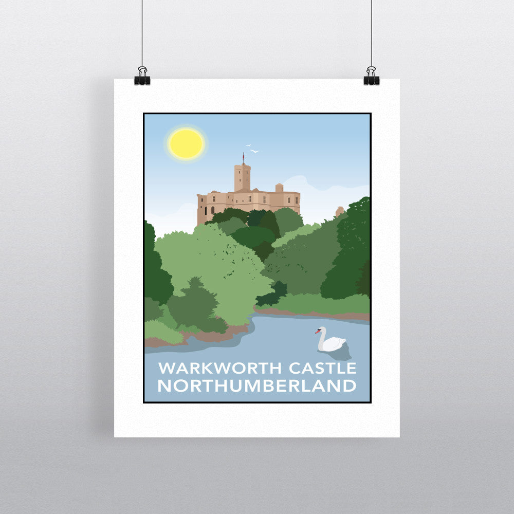 Warkworth Castle, Warkworth 11x14 Print