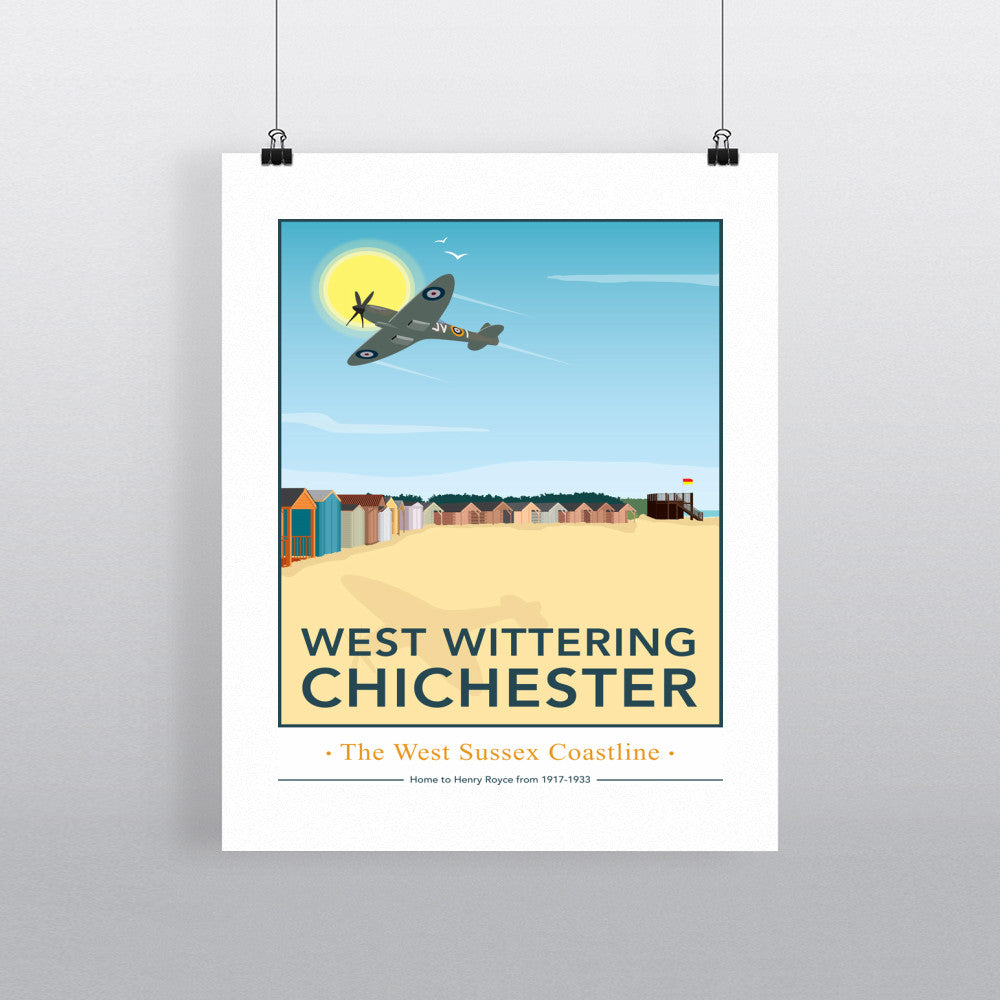 West Wittering, Chichester 11x14 Print