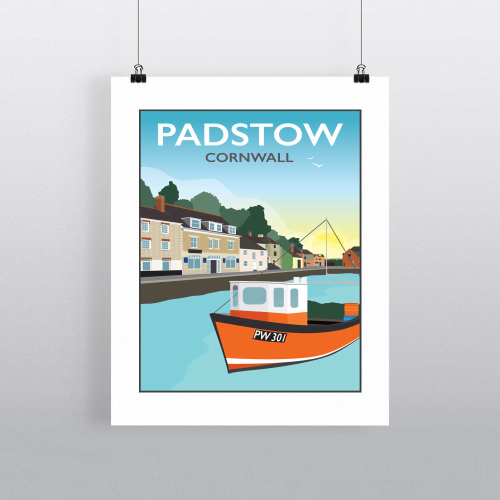 Padstow, Cornwall 11x14 Print