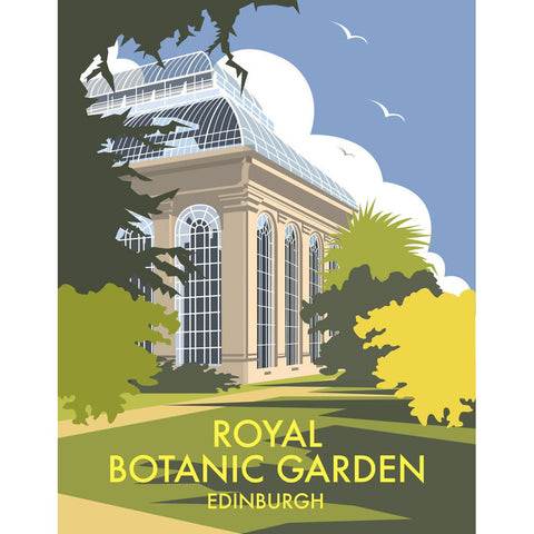 "THOMPSON020: Royal Botanic Garden, Edinburgh. 24"" x 32"" Matte Mounted Print"