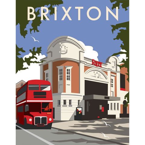 "THOMPSON061: Ritzy Cinema, Brixton. 24"" x 32"" Matte Mounted Print"