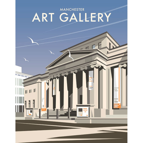 "THOMPSON113: Manchester Art Gallery. 24"" x 32"" Matte Mounted Print"