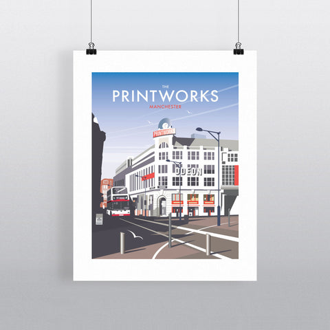 "THOMPSON116: The Printworks, Manchester. 24"" x 32"" Matte Mounted Print"