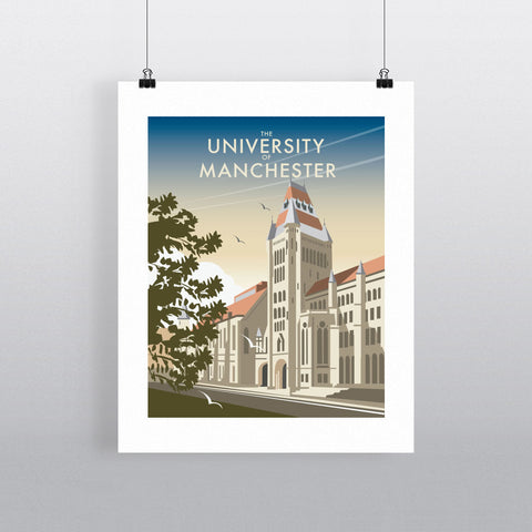 "THOMPSON118: The University of Manchester. 24"" x 32"" Matte Mounted Print"