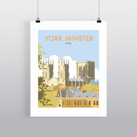 "THOMPSON149: York Minster. 24"" x 32"" Matte Mounted Print"