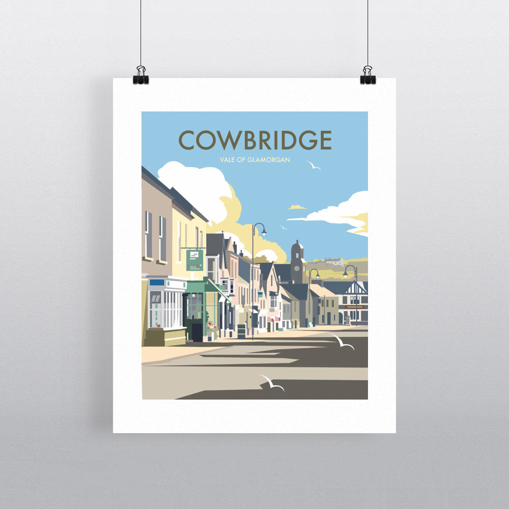 "THOMPSON212: Cowbridge, South Wales, 24"" x 32"" Matte Mounted Print"