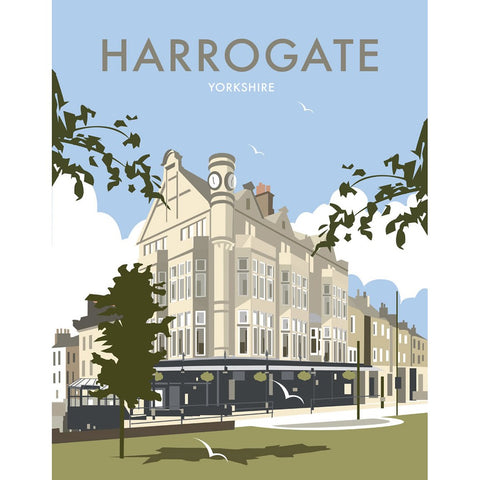 "THOMPSON216: Harrogate 24"" x 32"" Matte Mounted Print"