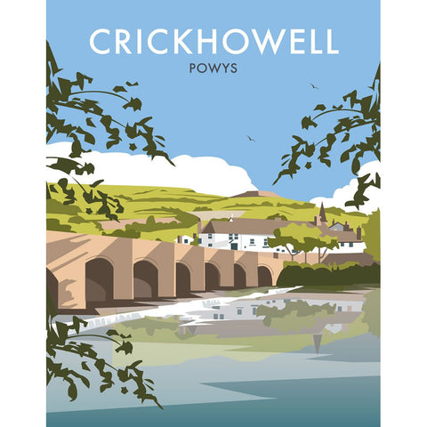 "THOMPSON222: Crickhowell, South Wales 24"" x 32"" Matte Mounted Print"