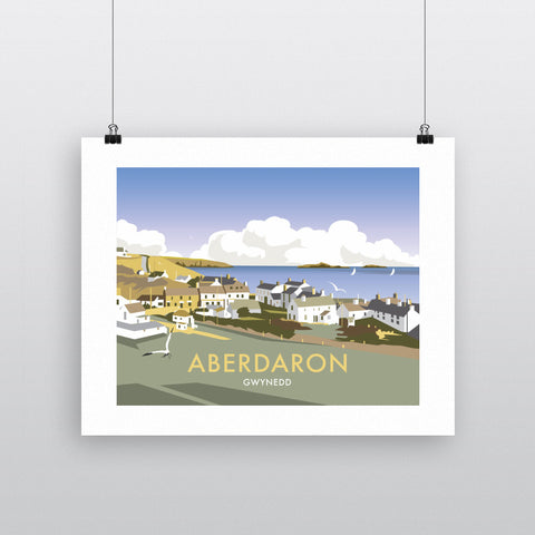 "THOMPSON328: Aberdaron, South Wales 24"" x 32"" Matte Mounted Print"