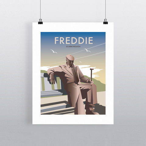 "THOMPSON360: Freddie, Scarborough 24"" x 32"" Matte Mounted Print"