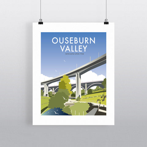 "THOMPSON365: Ouseburn Valley, Newcastle Upon Tyne 24"" x 32"" Matte Mounted Print"