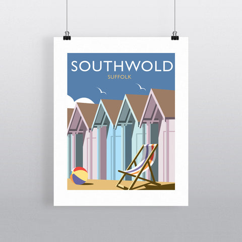 "THOMPSON367: Southwold, Suffolk 24"" x 32"" Matte Mounted Print"