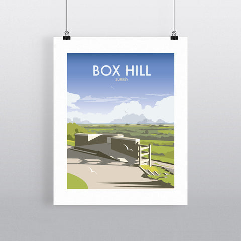 "THOMPSON394: Box Hill, Surrey 24"" x 32"" Matte Mounted Print"