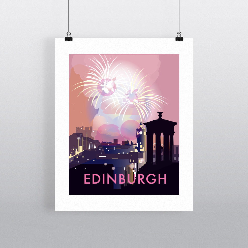 "THOMPSON406: Edinburgh 24"" x 32"" Matte Mounted Print"