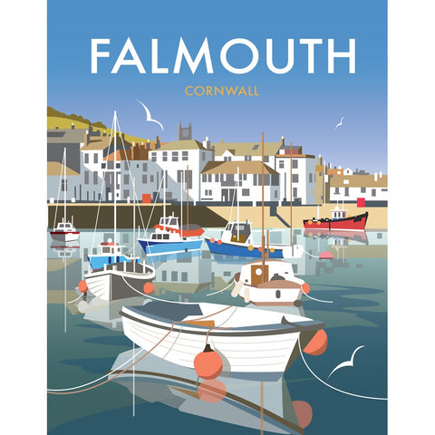 "THOMPSON450: Falmouth 24"" x 32"" Matte Mounted Print"