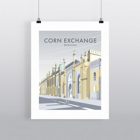 THOMPSON511: Corn Exchange Brighton. Greeting Card 6x6