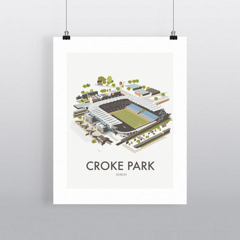 THOMPSON540: Croke Park Dublin. Greeting Card 6x6