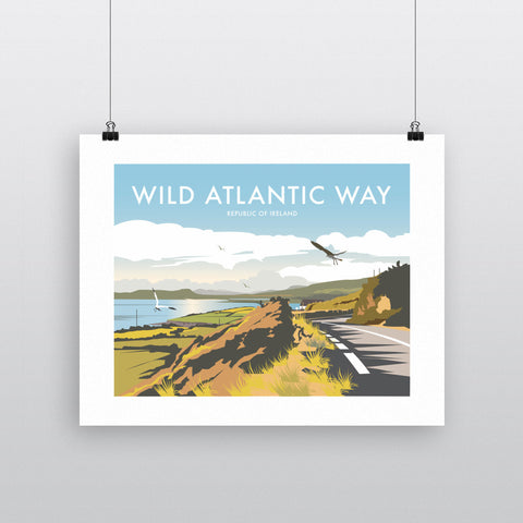 THOMPSON548: Wild Atlantic Way Ireland. Greeting Card 6x6
