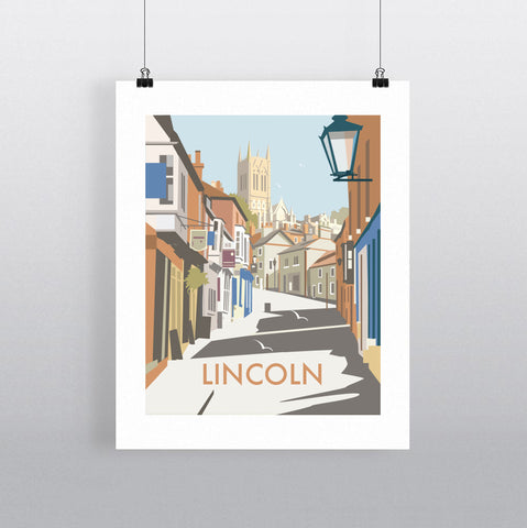 THOMPSON602: Lincoln. Greeting Card 6x6