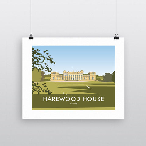 THOMPSON637: Harewood House Leeds. Greeting Card 6x6
