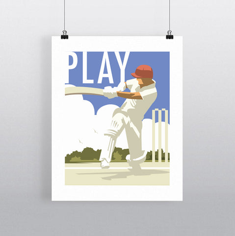 THOMPSON644: Play. Greeting Card 6x6