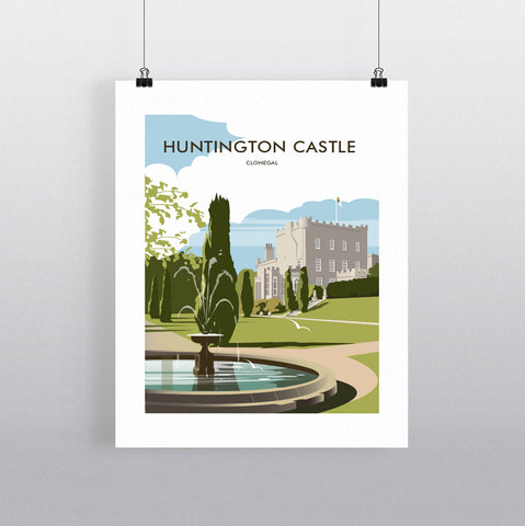 THOMPSON715: Huntington Castle Clonegal Ireland. Greeting Card 6x6