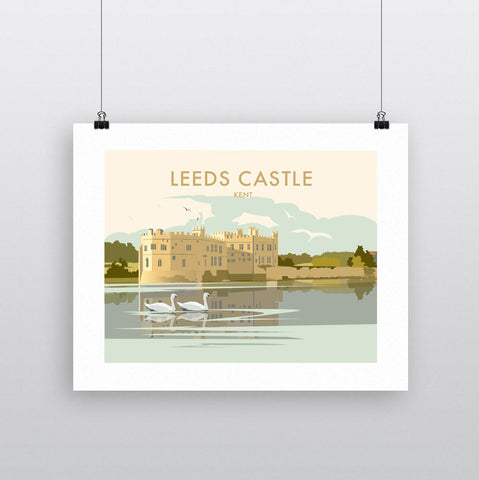 THOMPSON721: Leeds Castle Kent. Greeting Card 6x6