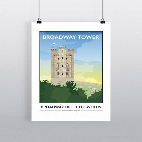 Broadway tower 11x14 Print