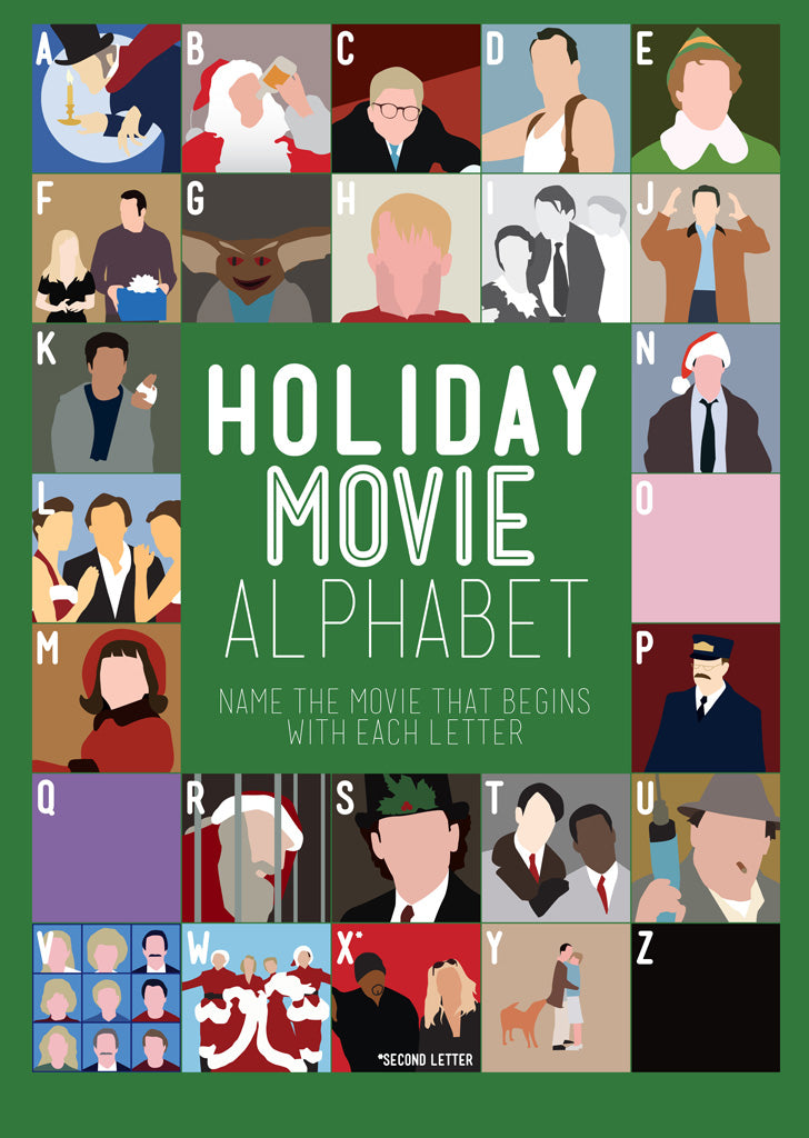 A to Z: Christmas Films